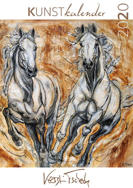 horse art calendar 2020 Kerstin Tschech
