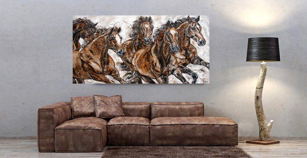 Horse Art Glass Print