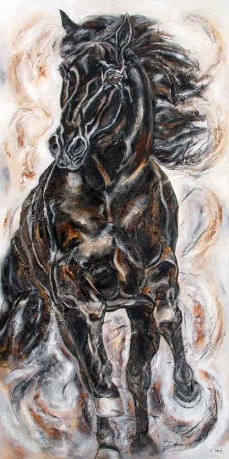 Horse Painting, Horse Art Prints, Equestrian Art, Horse Calendar, KerstinTschech